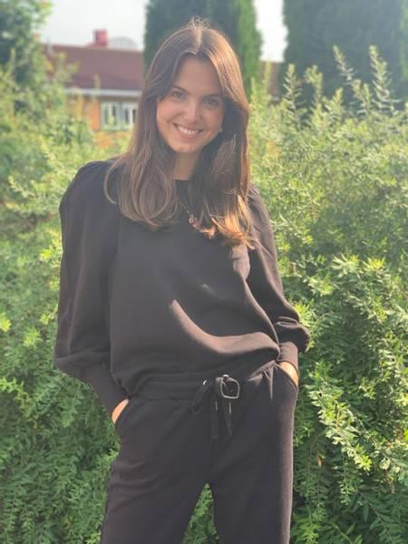Bilde av Part Two Gisa Sweater Black