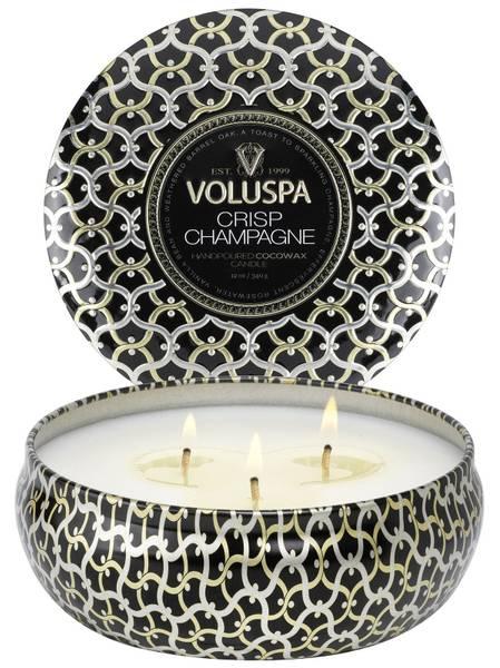 Bilde av Voluspa 3-wick Candle Crisp