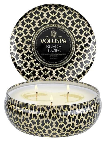 Bilde av Voluspa 3-wick Candle Suede