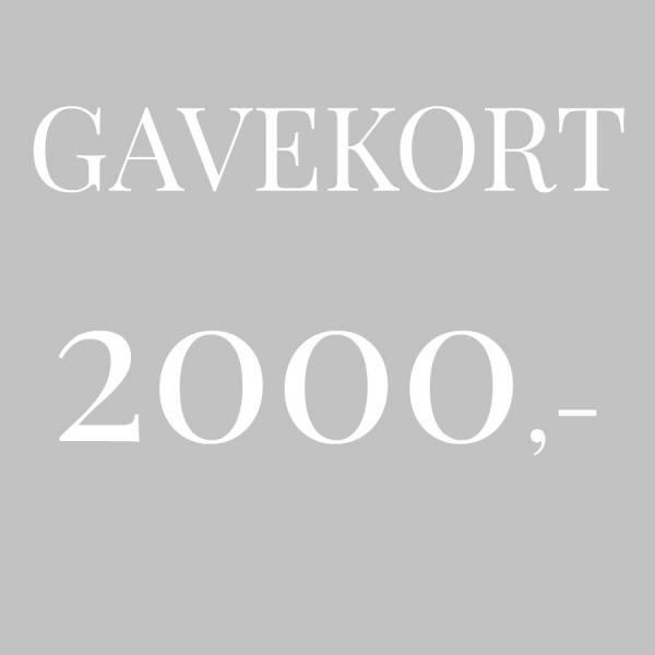 Bilde av Gavekort 2.000,-