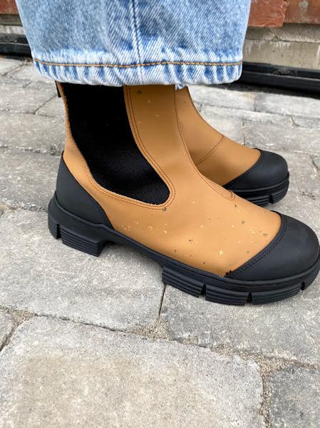 Bilde av Ganni Recycled Rubber Støvler